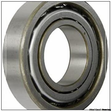 35 mm x 72 mm x 17 mm  NACHI 6207 Deep Groove Ball Bearing 35x72x17