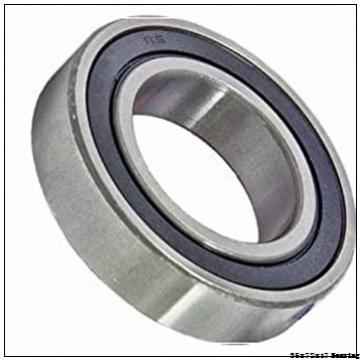 Deep groove ball bearings water auto pump bearing 6207 zz 2RS 35*72*17