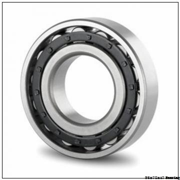 35 mm x 72 mm x 17 mm  SKF 6207 zz/c3 Deep Groove Ball Bearing