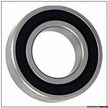 20 mm x 42 mm x 12 mm  Rubber Seal Japan 6004 NSK ball bearing 6004-2RS 20x42x12