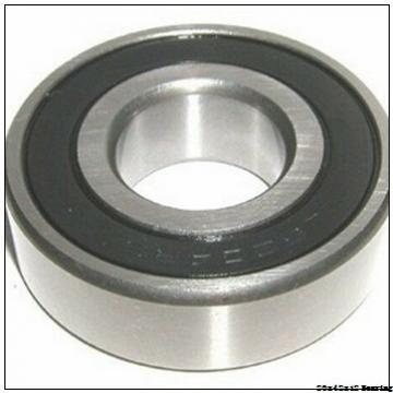 6004zz 6004 zz 20x42x12 deep groove ball bearing