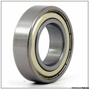 deep groove 6004 ball bearing 6004zz 20x42x12 mm