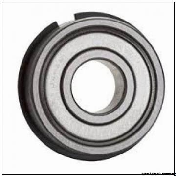 6004 20x42x12 20mmbore bearing size 6004 POM plastic ball bearing