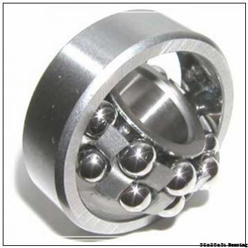 High speed fan Angular contact ball bearing 4307ATN9 Size 35x80x31