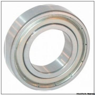 35 mm x 80 mm x 31 mm  NSK self-aligning ball bearing 2307 with 35X80X31 mm