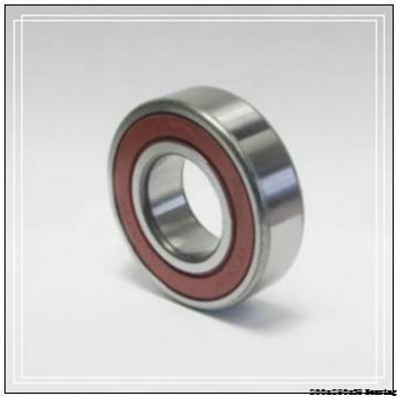 Steel mill Angular contact ball bearing 71940CD/P4A Size 200x280x38