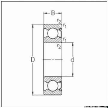 HCB71940-E-T-P4S Spindle Bearing 200x280x38 mm Angular Contact Ball Bearings HCB71940.E.T.P4S