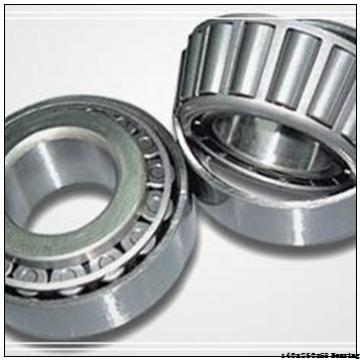 Double row Spherical roller bearings 22210-E1-K Bearing Size 140X250X68