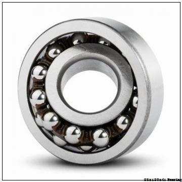 Rolling mill Angular contact ball bearing 7317BEGAF Size 85x180x41