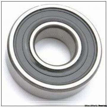 High quality printing machine cylindrical roller bearing NJ317ECM Size 85X180X41