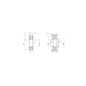 NSK 7940C Angular contact ball bearing 7940C Bearing size: 200x280x38mm