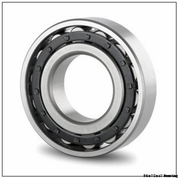 NSK Motorcycle Bearing 6207/18 35x72x17 mm Chrome Steel Deep Groove Ball Bearing 6207/18 #1 image