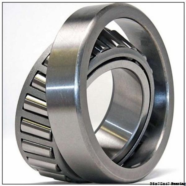 NSK Motorcycle Bearing 6207/18 35x72x17 mm Chrome Steel Deep Groove Ball Bearing 6207/18 #2 image